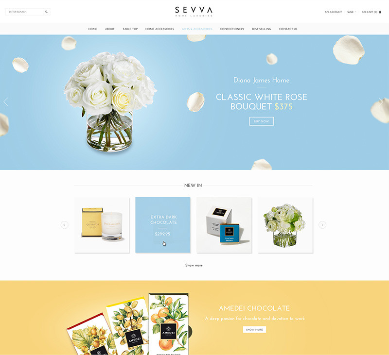 SEVVA Web Design