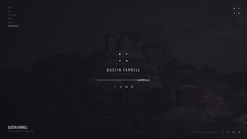 Dustin Farrell Web Design