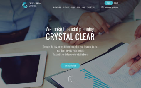Crystal Brook Advisors Web Development Preview