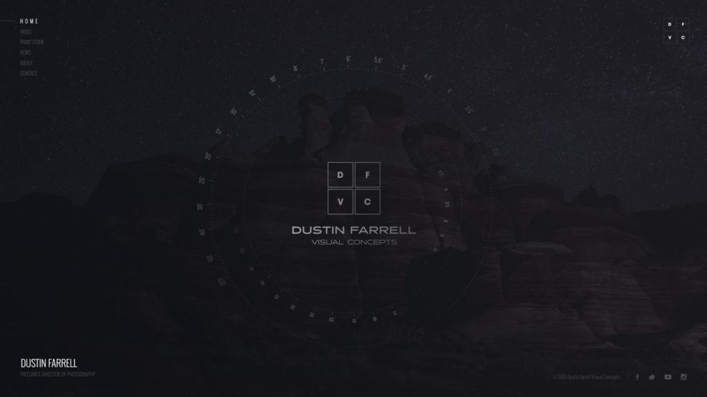 Dustin Farrell Web Design Preview