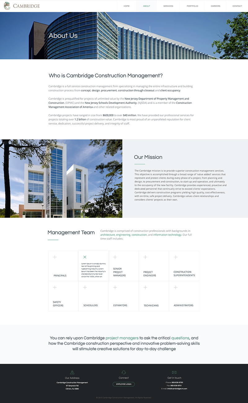Cambridge Web Design