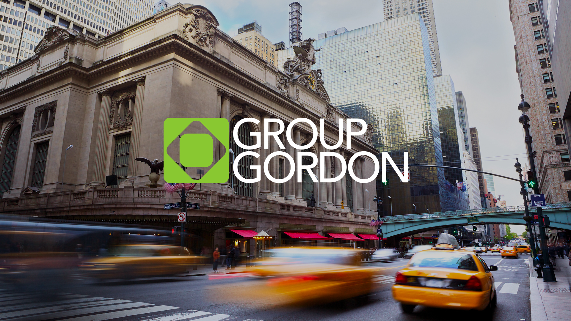Group Gordon Website Design Preview