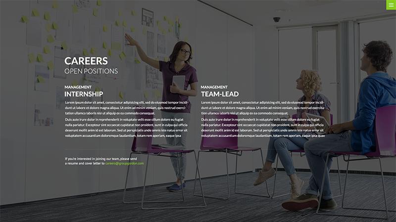 Group Gordon Web Design