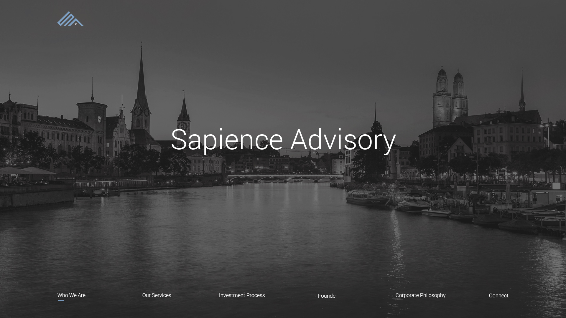 Sapience Advisory Website Design Preview
