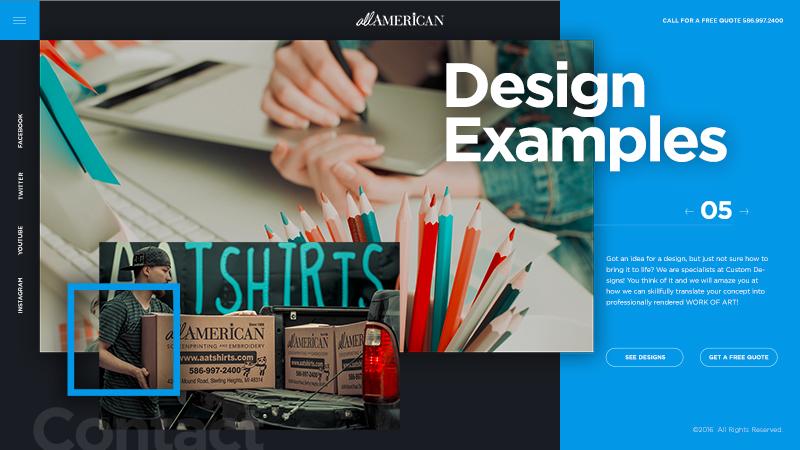 Aatshirts Web Design