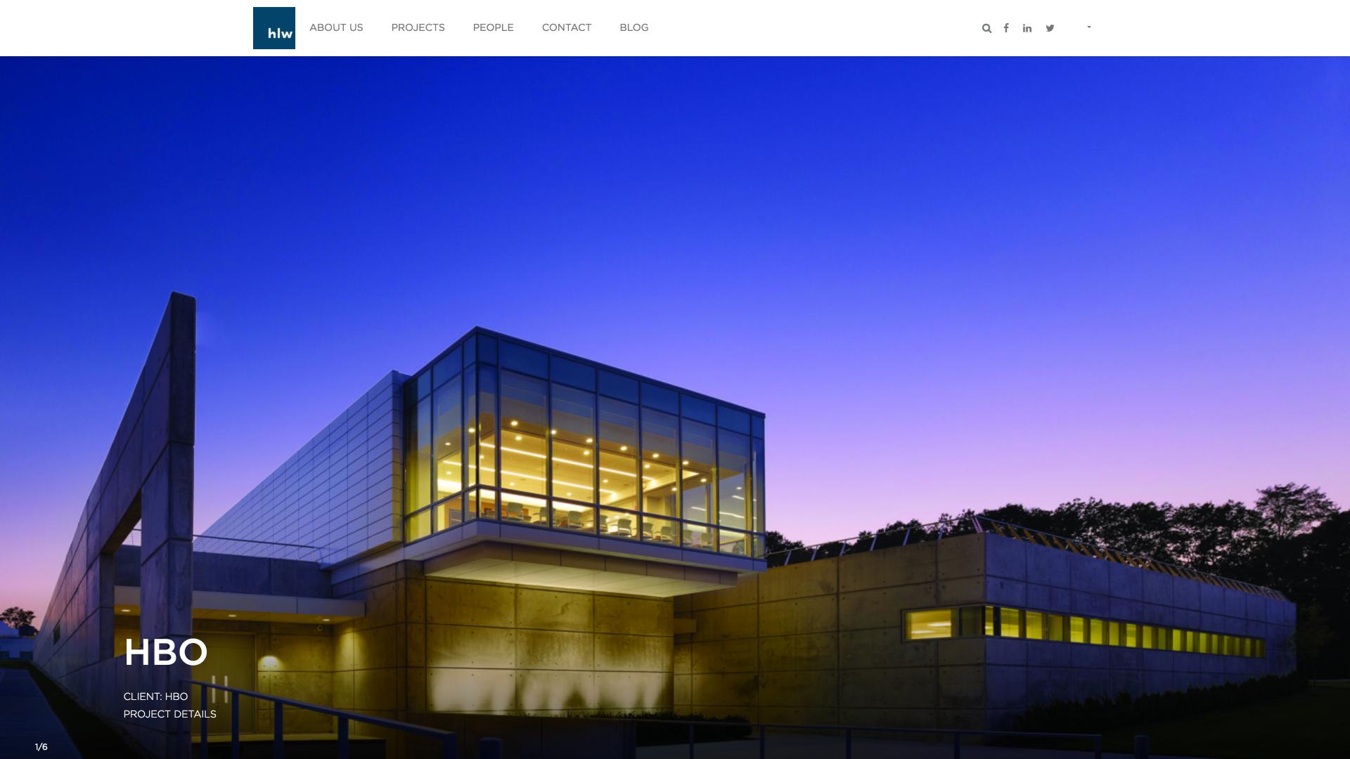 HLW Website Design Preview