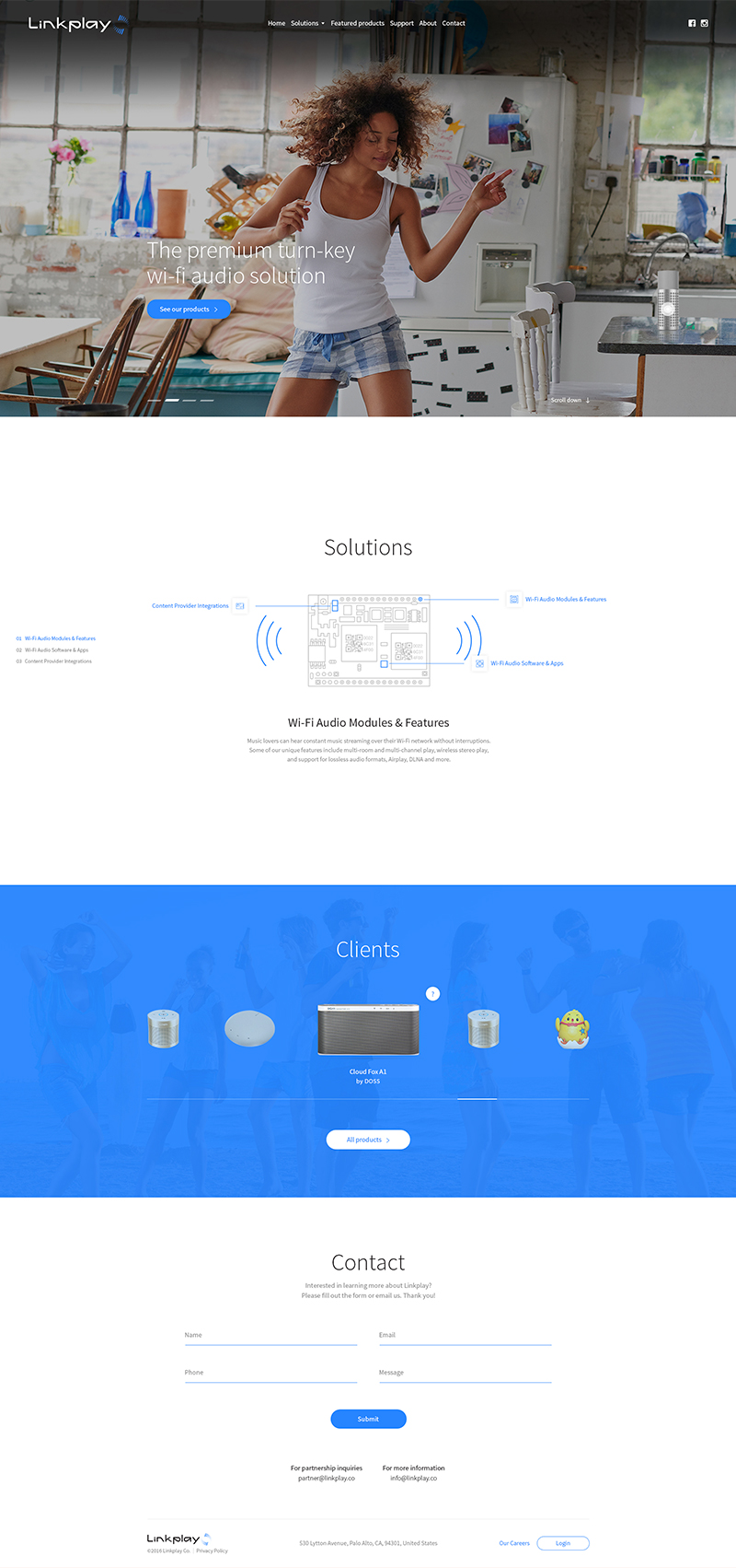 linkplay Web Design