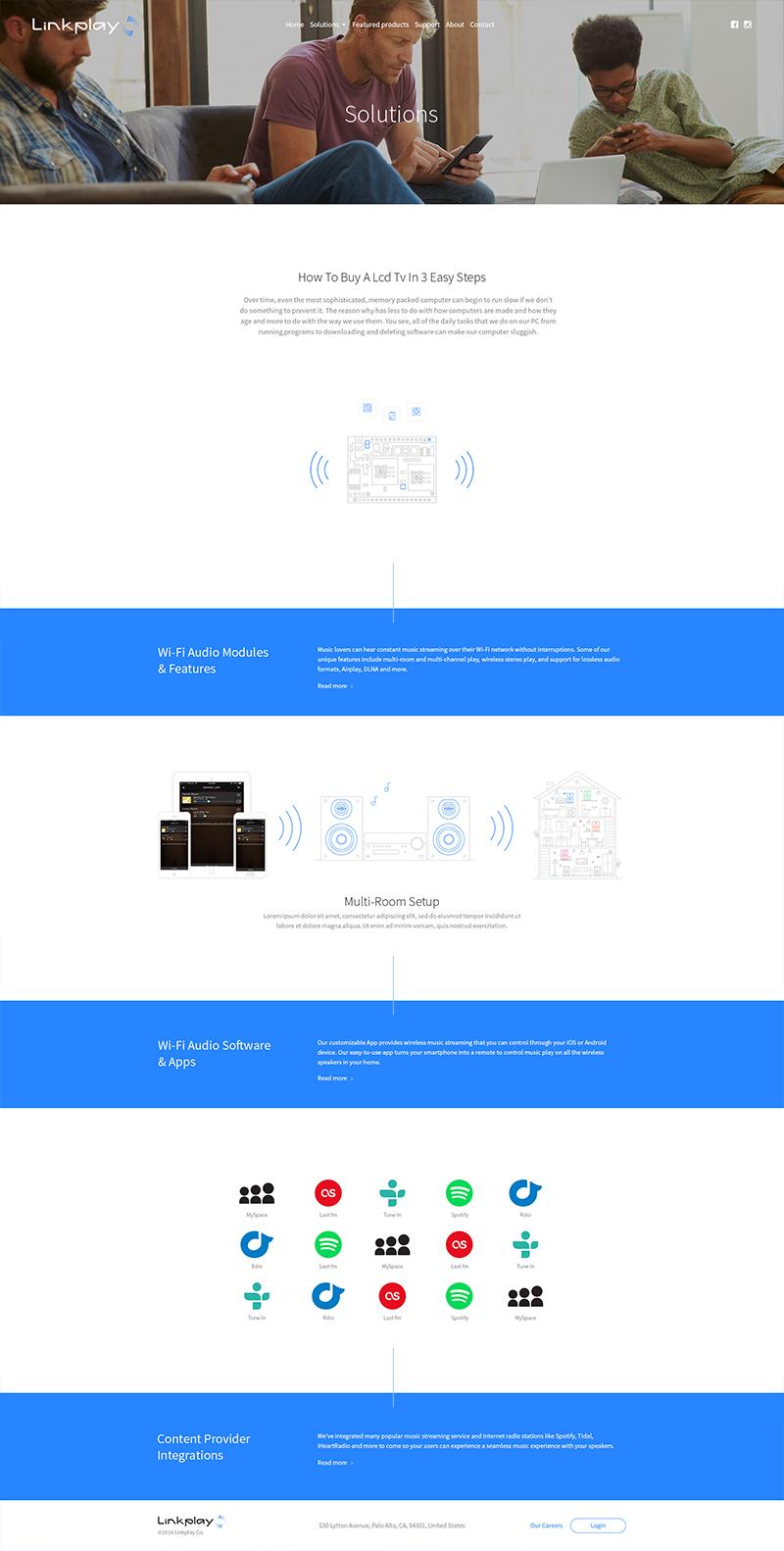 linkplay Web Design