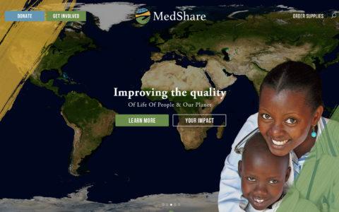 Medshare Web Development Preview