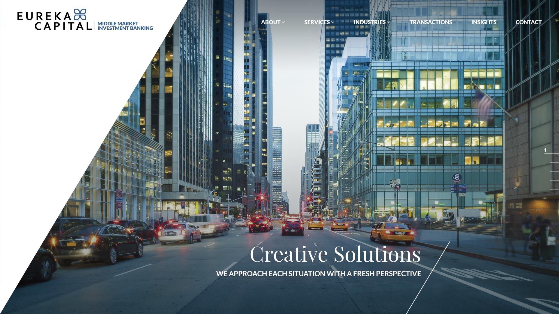 Eurika Website Design Preview