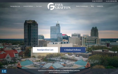 Fay & Grafton Web Development Preview