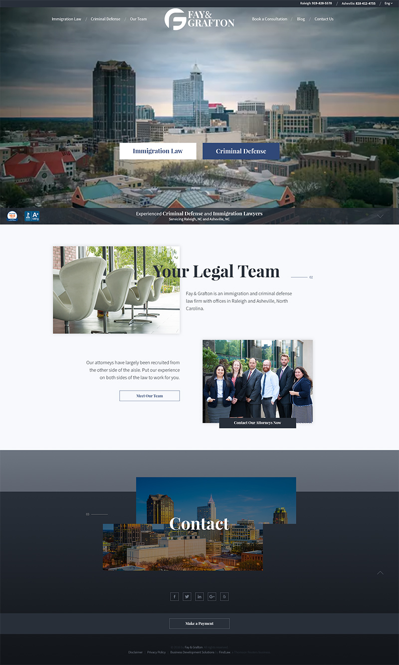 Fay & Grafton Web Design