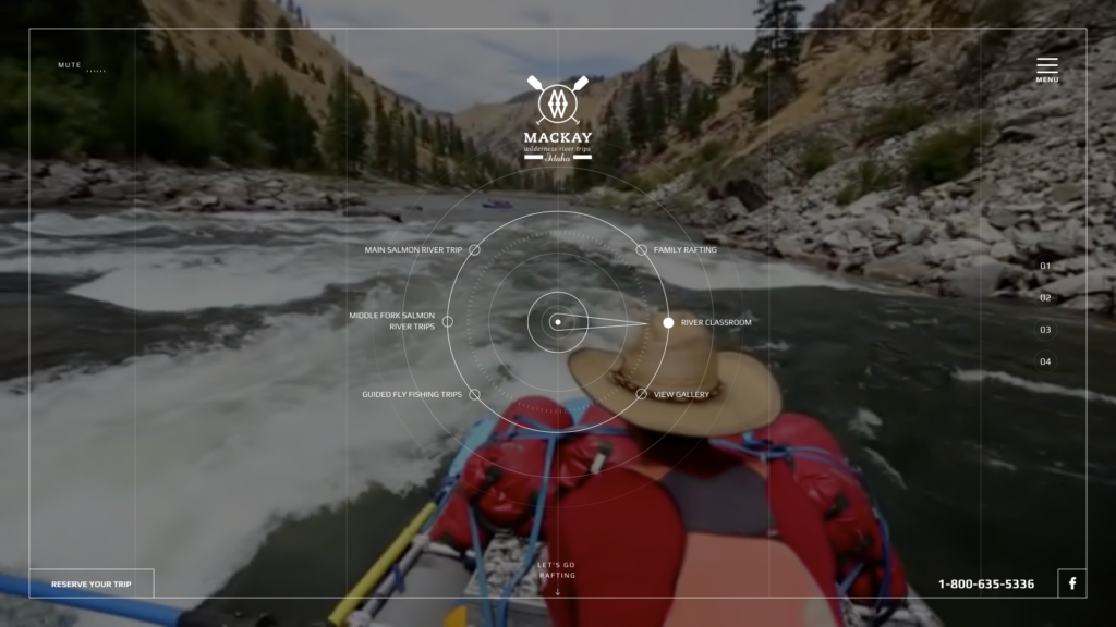 Mackay River Web Design Preview