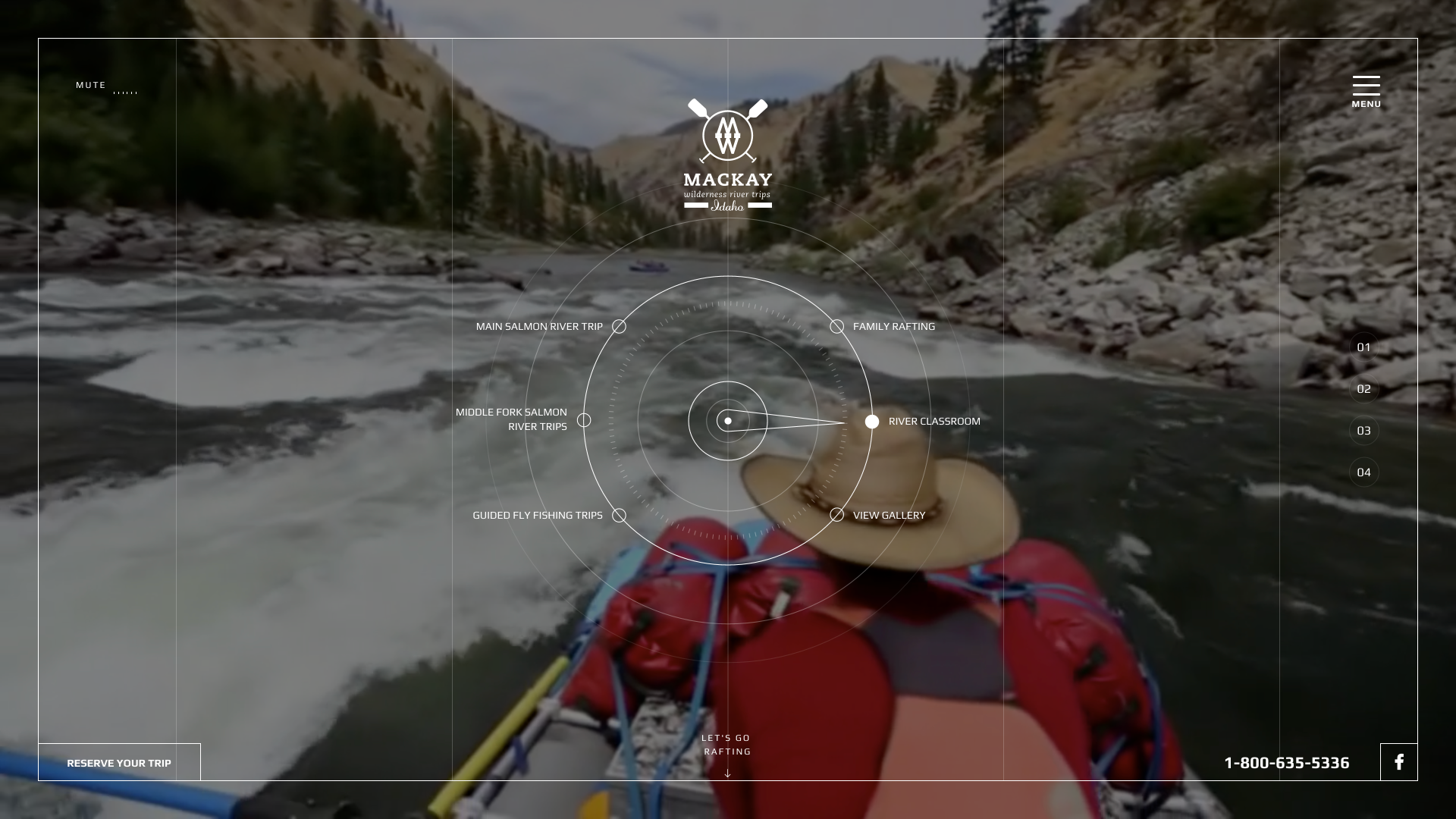Mackay River Website Design Preview
