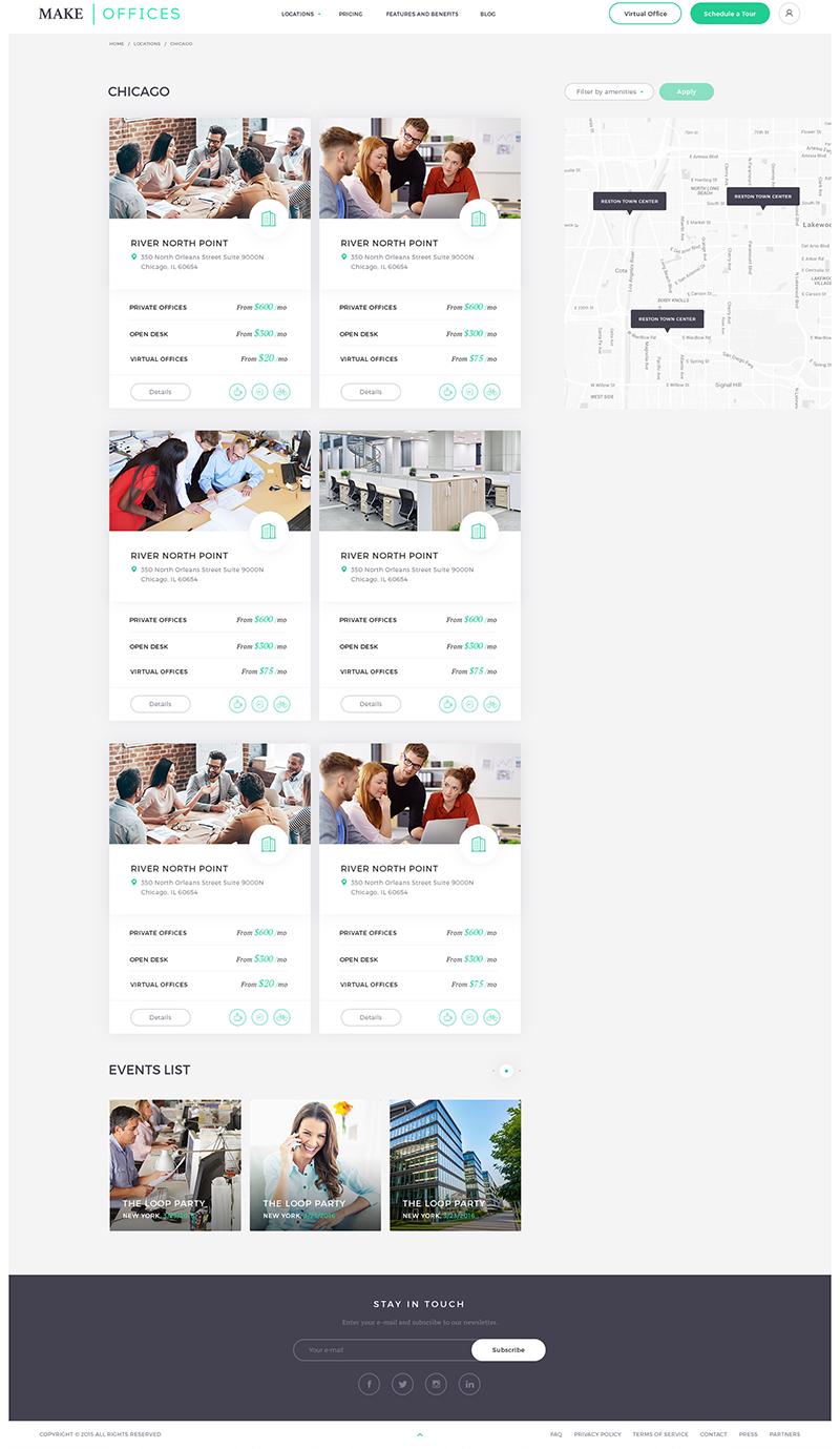 Make offices Web Design