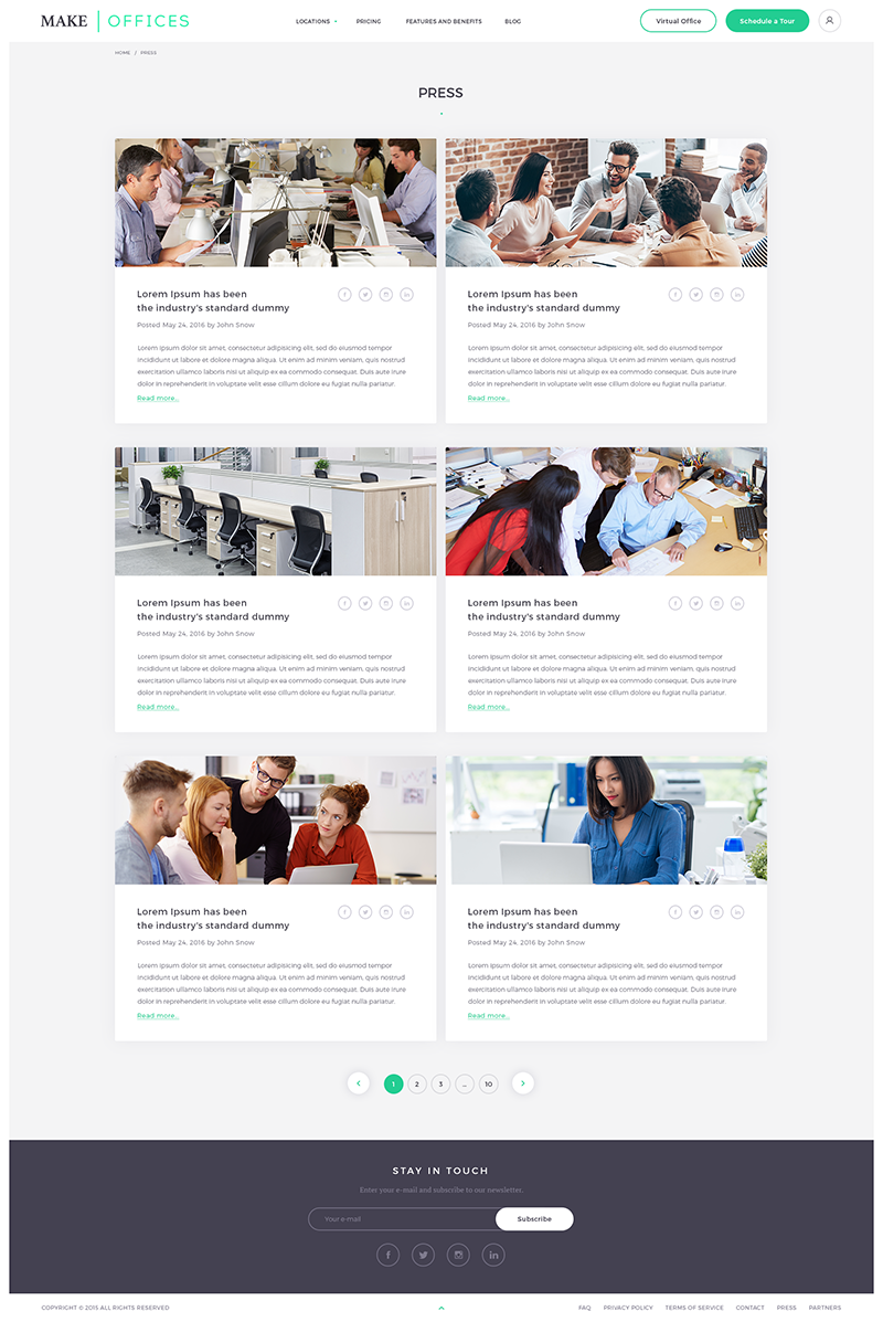 Make offices Web Design