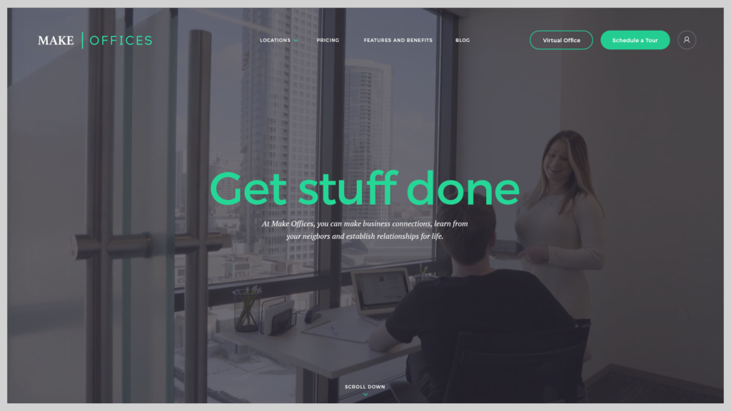 Make offices Web Design Preview