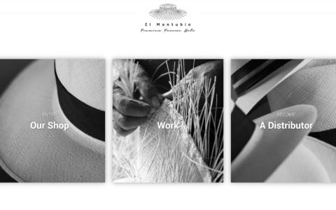 Panama Hats Web Development Preview