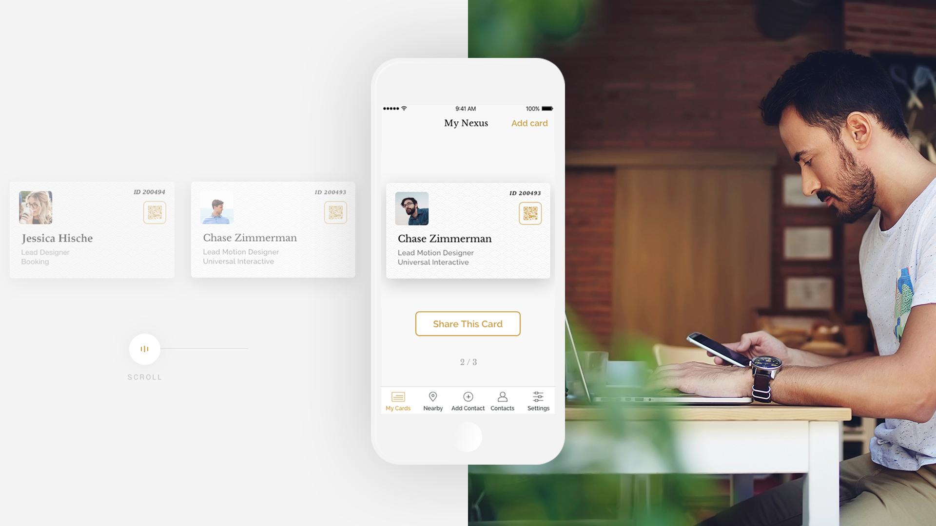 Nexals Website Design Preview