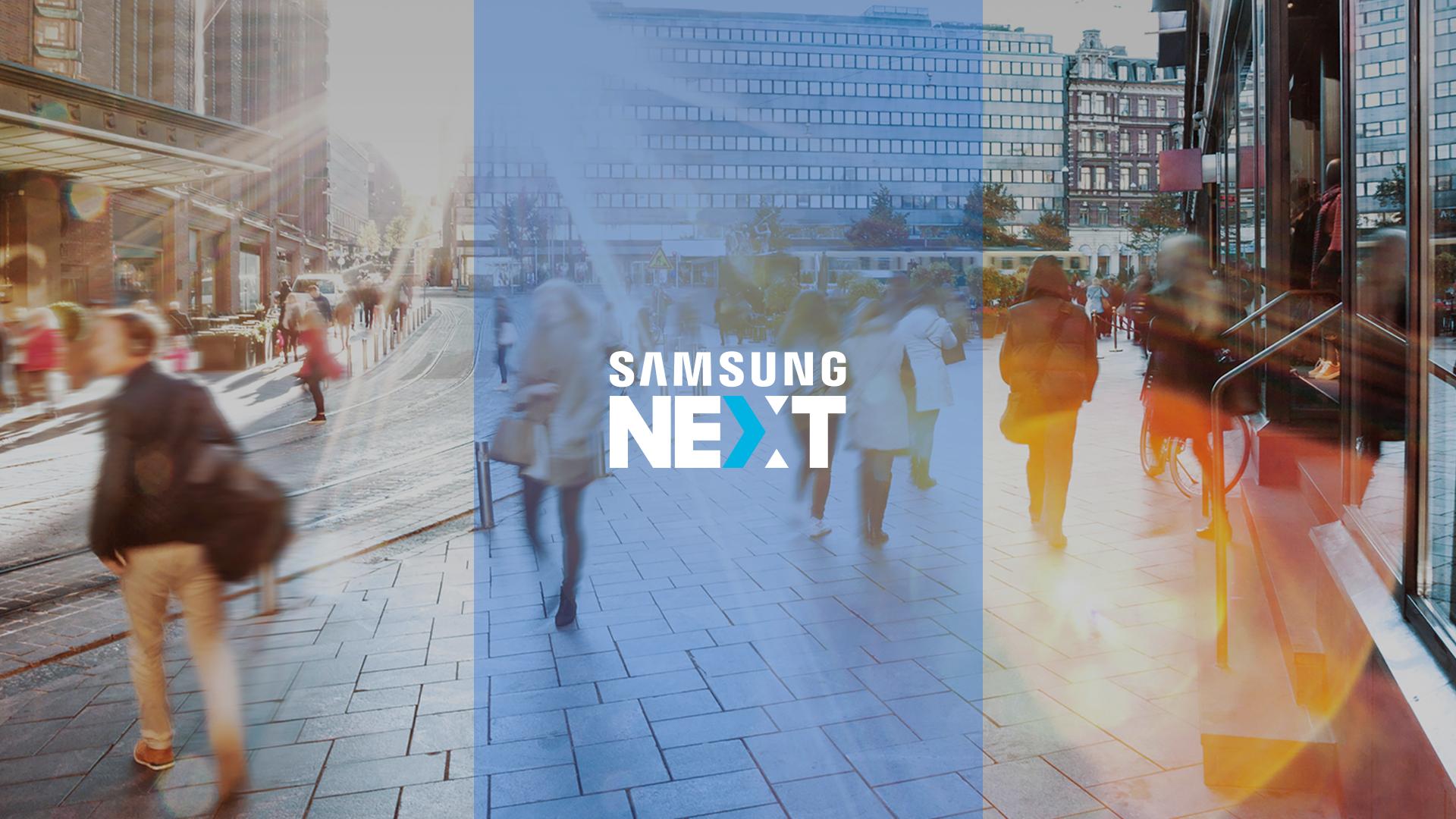 Samsung Next Website Design Preview