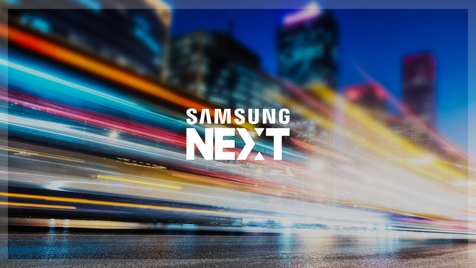 Samsung Next Website Design Preview