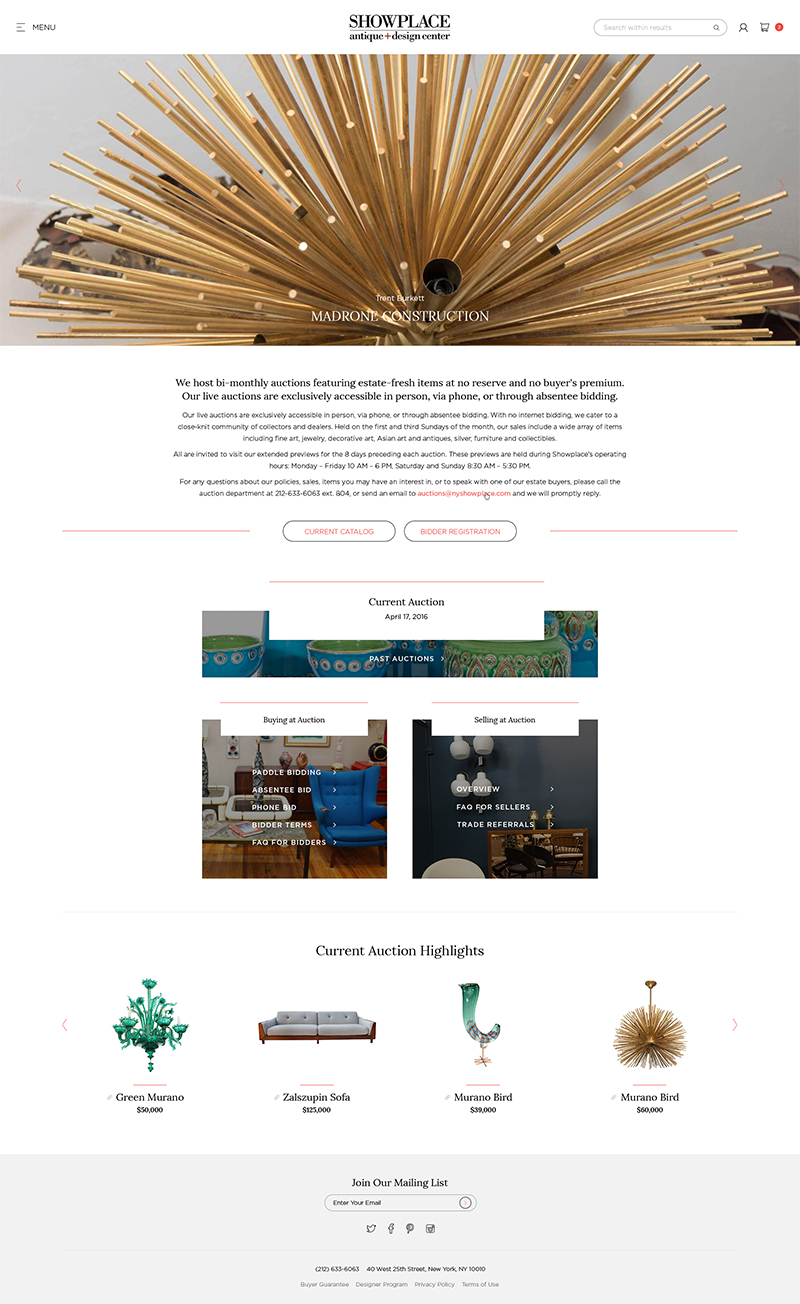 Showplace Web Design