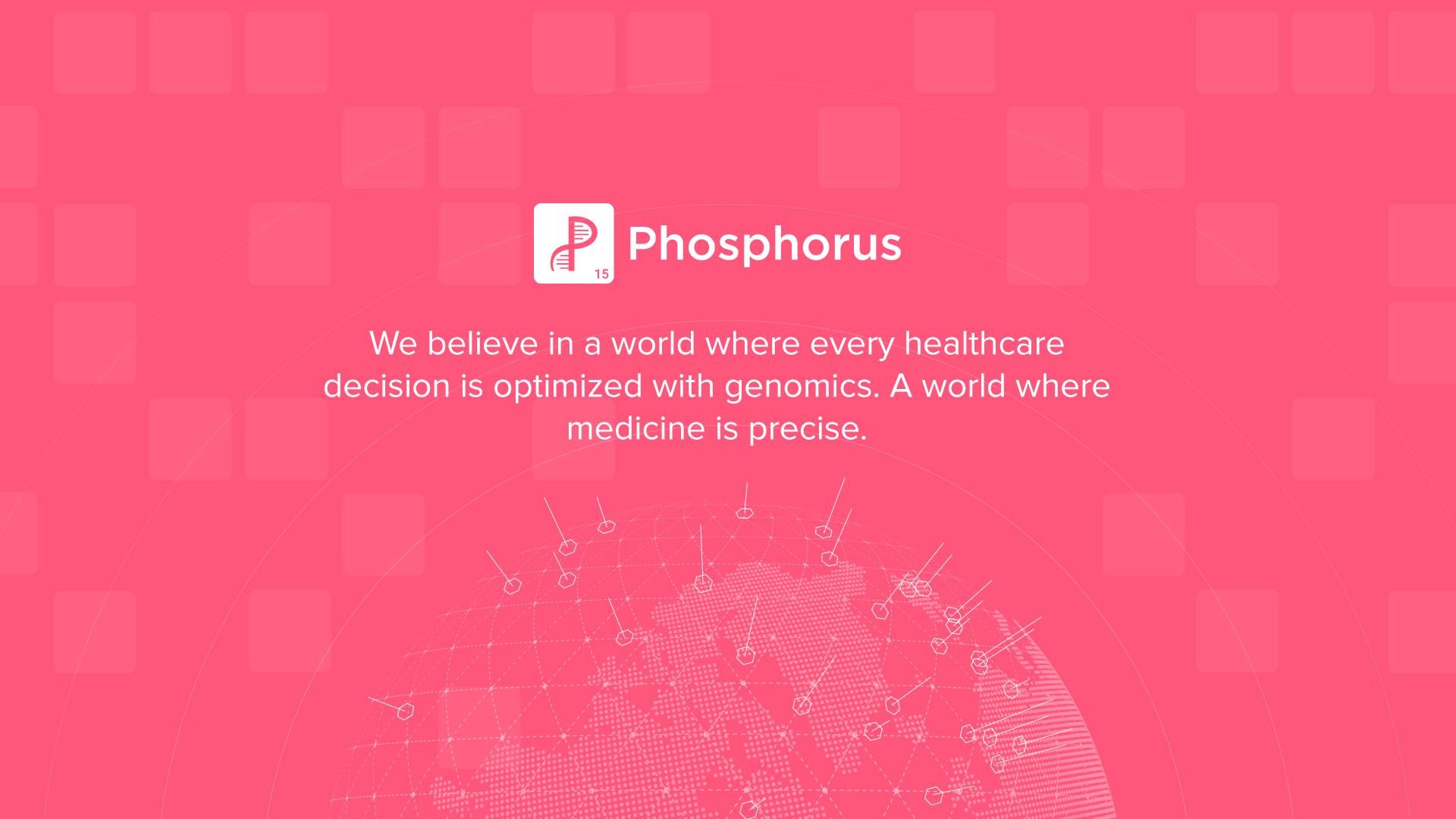 Phosphorus Website Design Preview