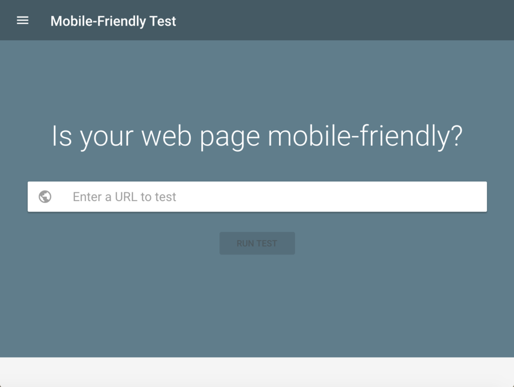 Google-Mobile-Friendly-Test-website-benchmarking