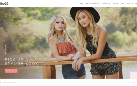 Mudd Jeans Web Development Preview