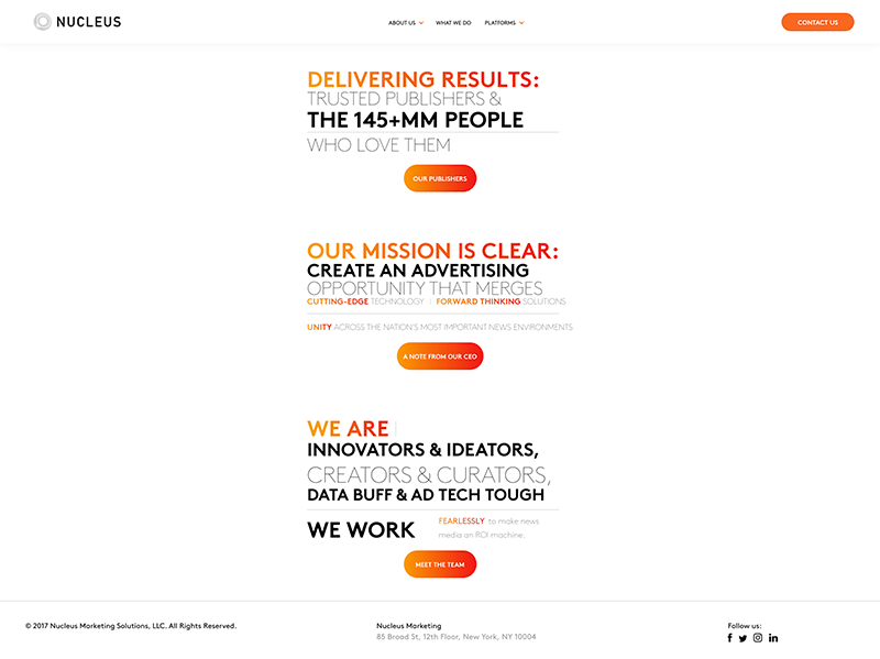 Nucleus Web Design