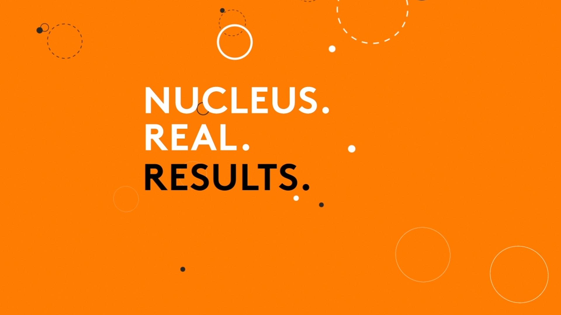 Nucleus Website Design Preview
