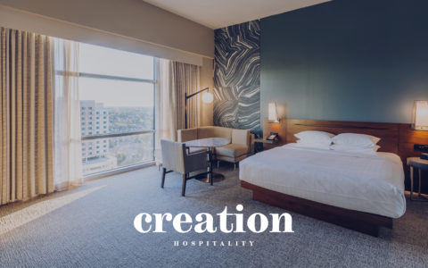 Creation Hospitality Web Development Preview