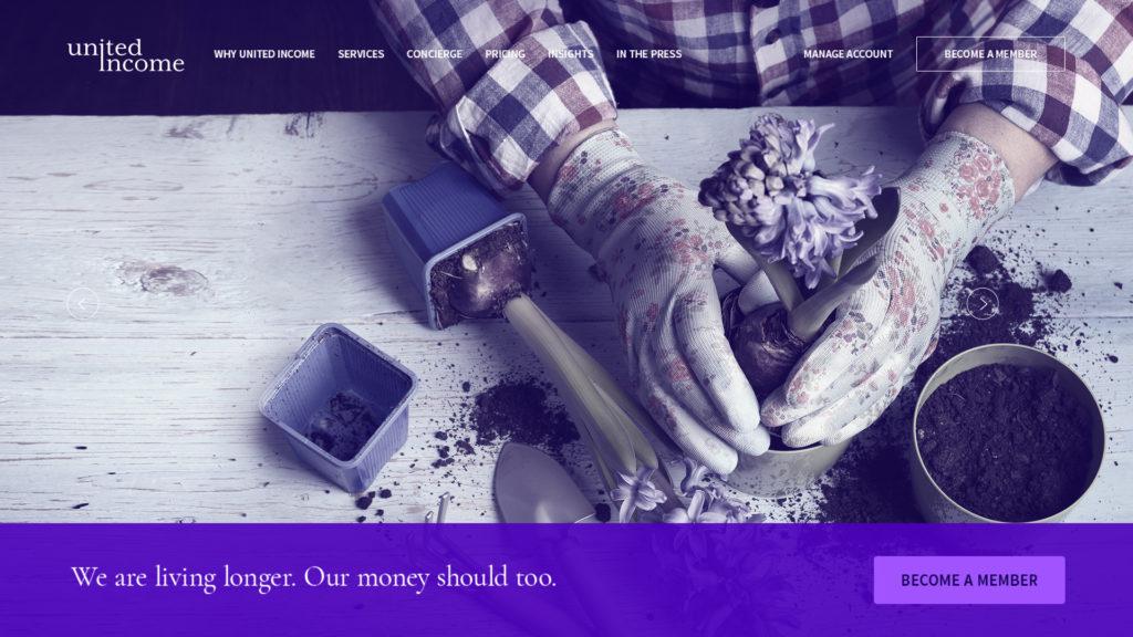United Income Web Design Preview
