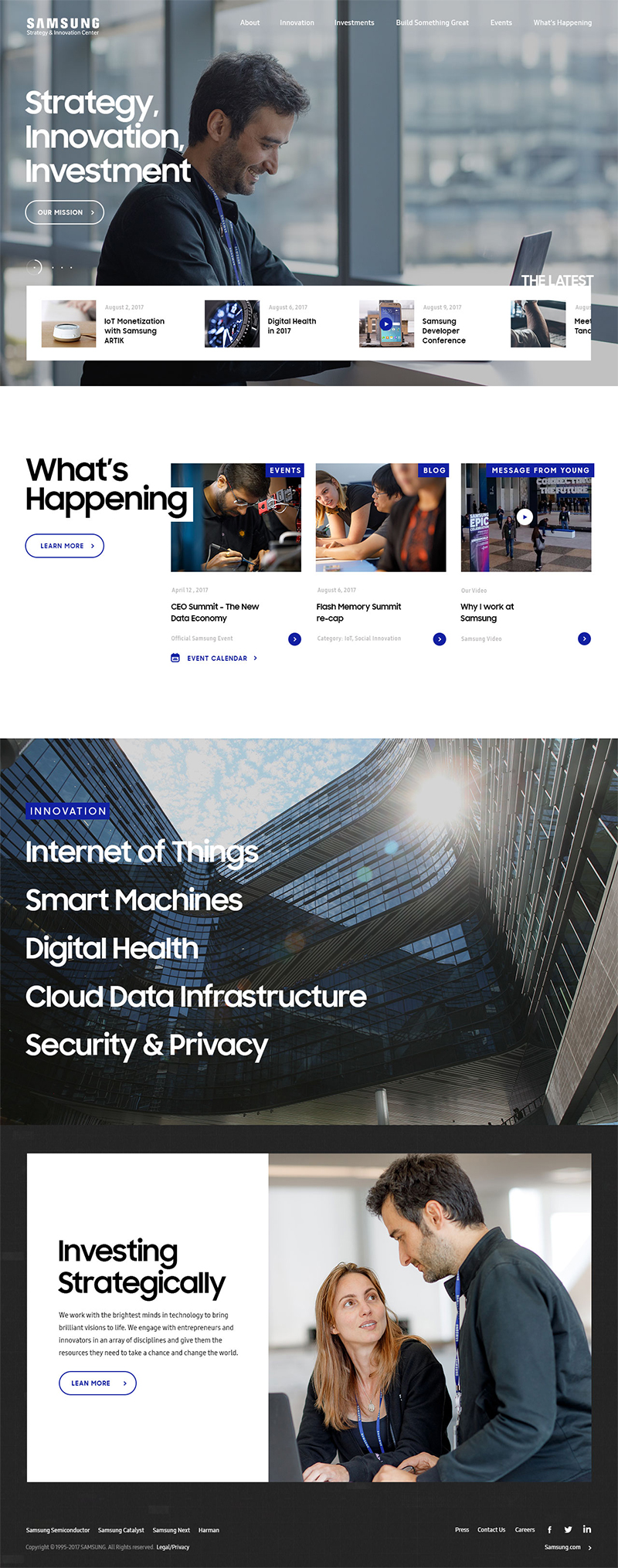 Samsung Strategy & Innovation Center - SSIC Home Page