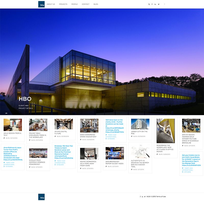 HLW Page Screenshot