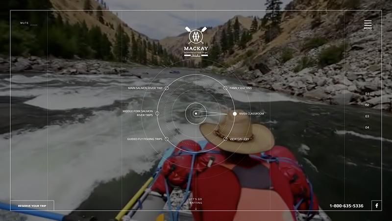 Mackay River Page Screenshot