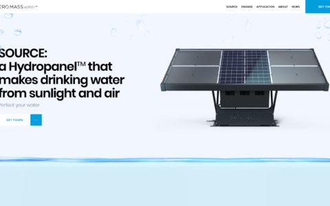 Zero Mass Water Web Development Preview
