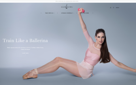 Ballet Beatiful Web Development Preview
