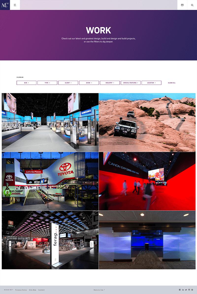 MC2 Page Screenshot