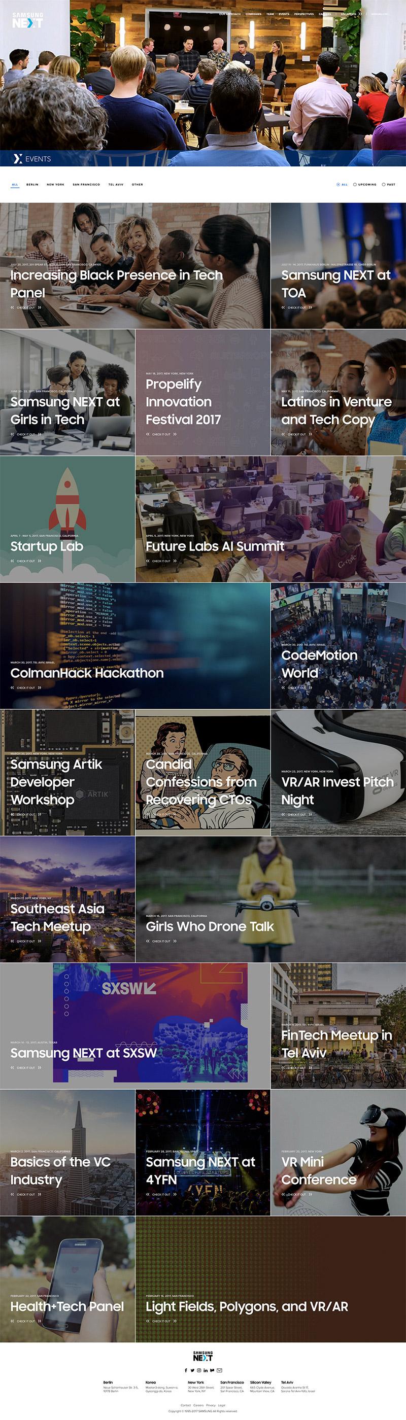 ZeromassWater Page Screenshot
