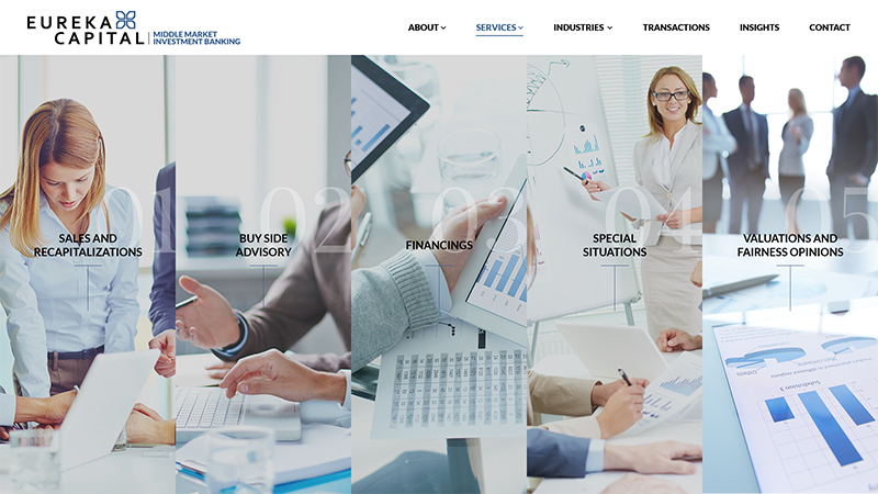Eureka Page Screenshot