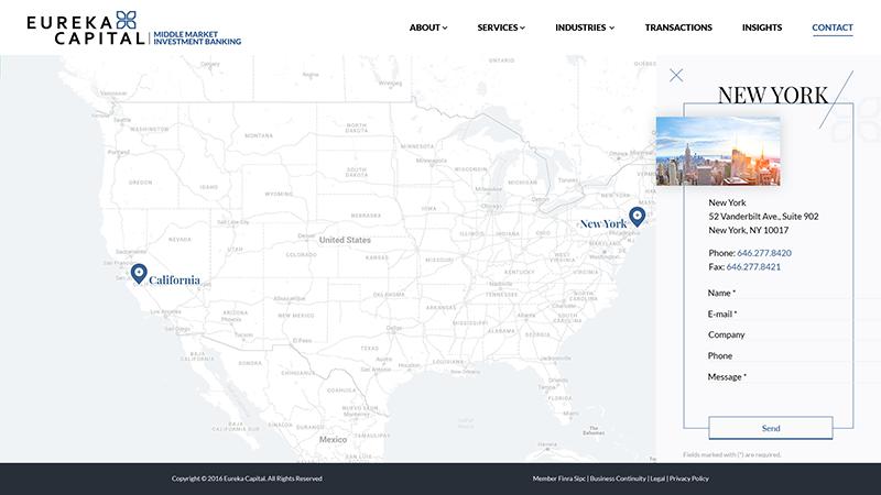 Eureka Capital Page Screenshot