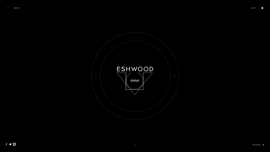 Anna Eswood Web Design Preview