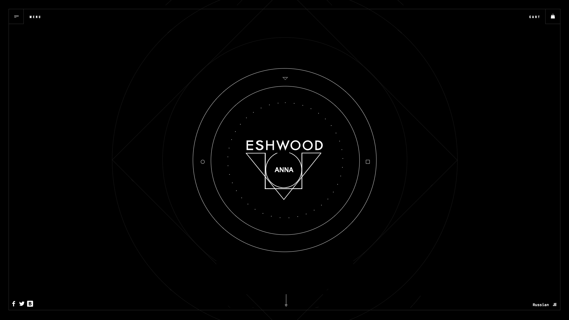 Anna Eswood Website Design Preview