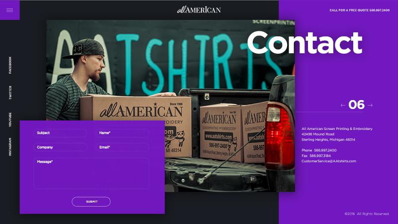 Aatshirts Page Screenshot