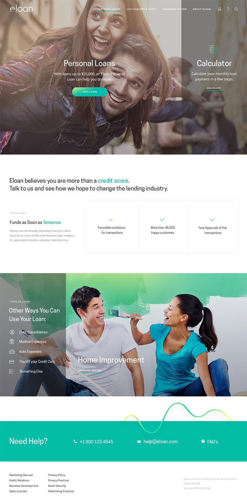 Eloan Page Screenshot