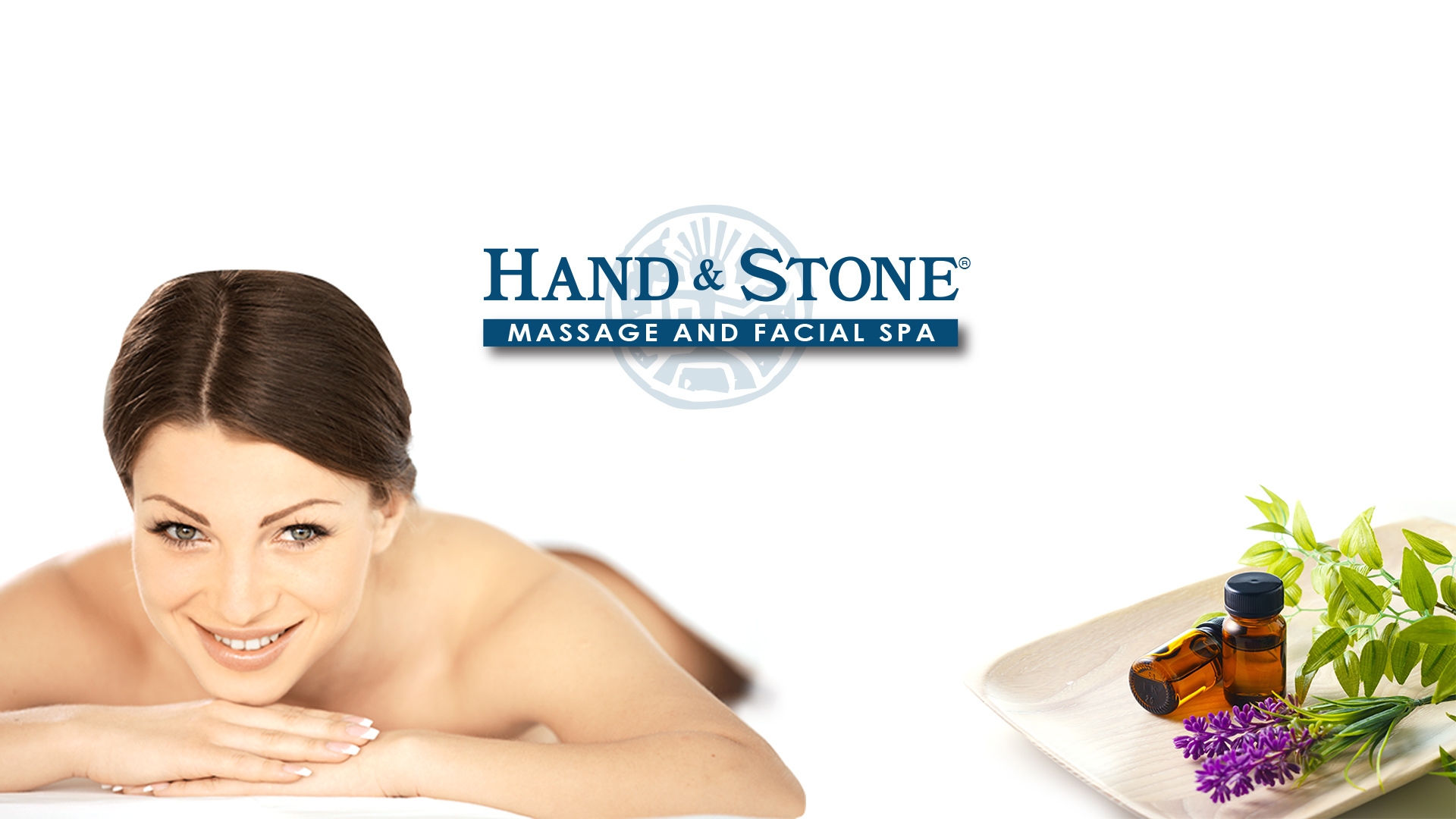 Hand and Stone Website Design Preview