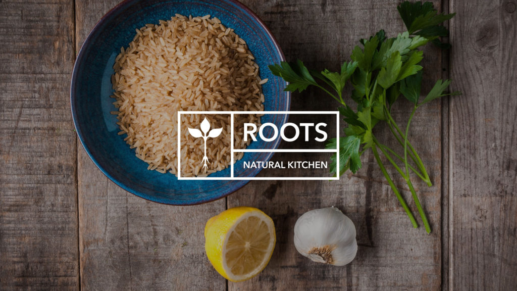Roots Natural Kitchen Web Design Preview