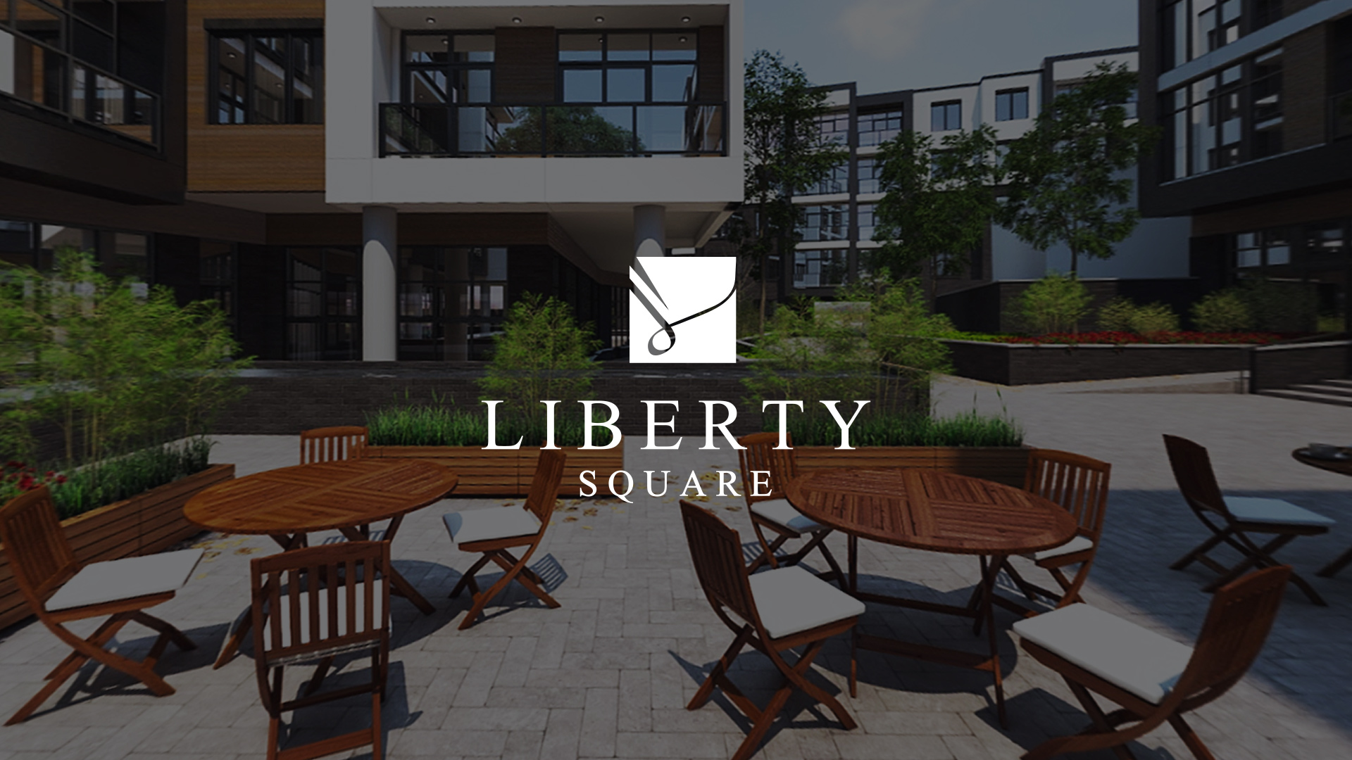 Liberty Square Website Design Preview