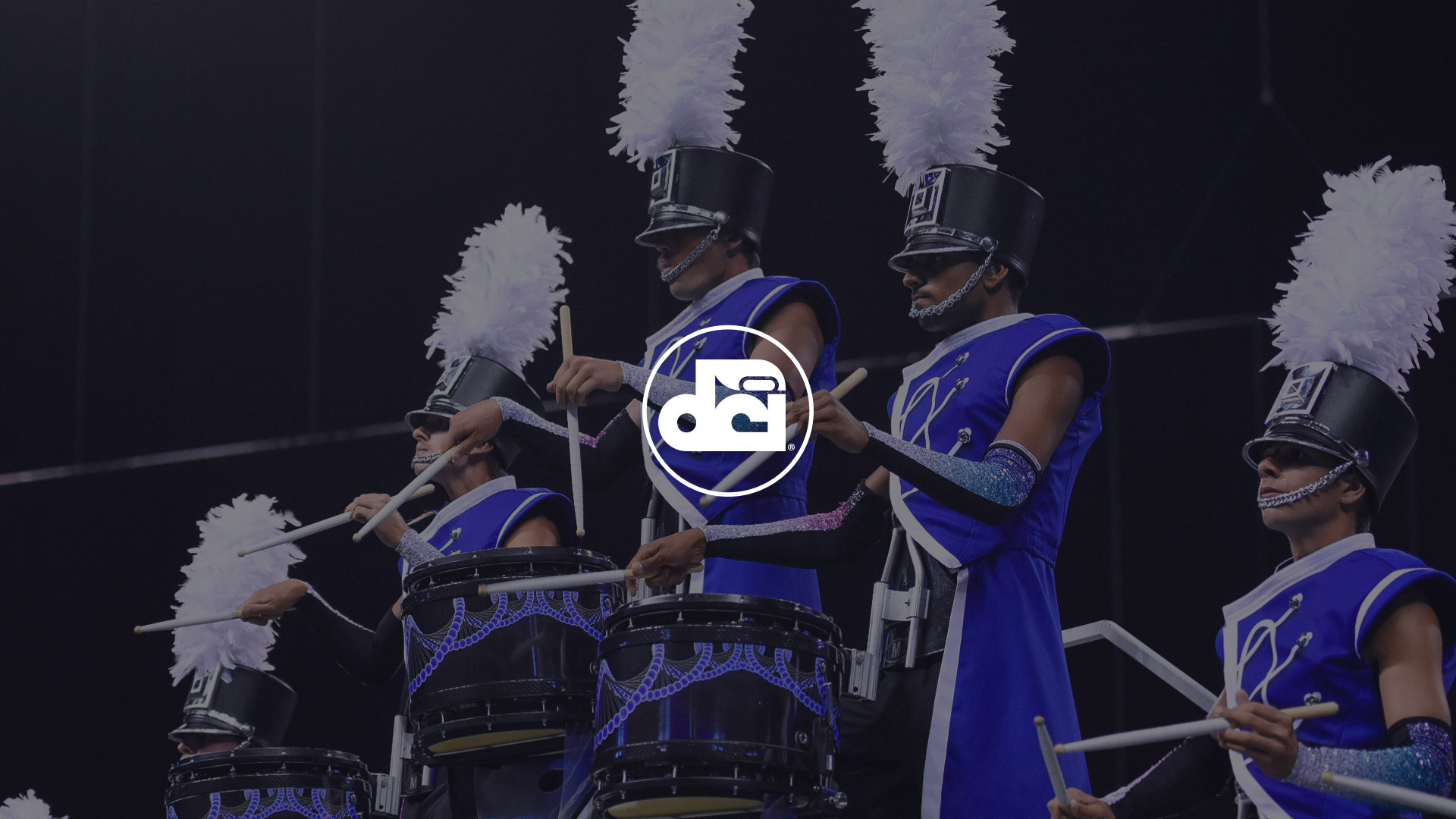 Drum Corps International Website Design Preview